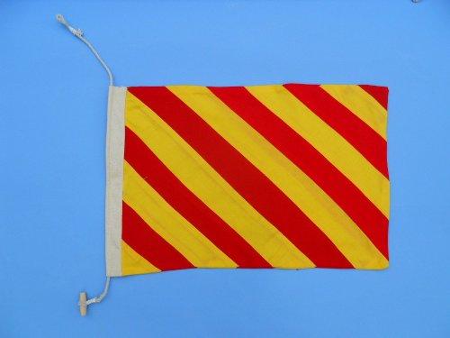 Letter Y 20 Cloth Nautical Alphabet Flag - Nautical flag decorative cloth flag nautical accessories nautical theme décor nautical wall hanging nautical sign