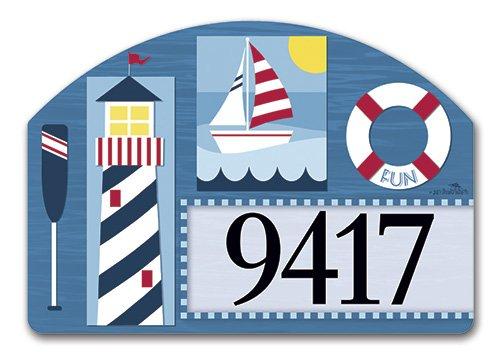 Yarddesign Nautical Days Yard Sign 78313