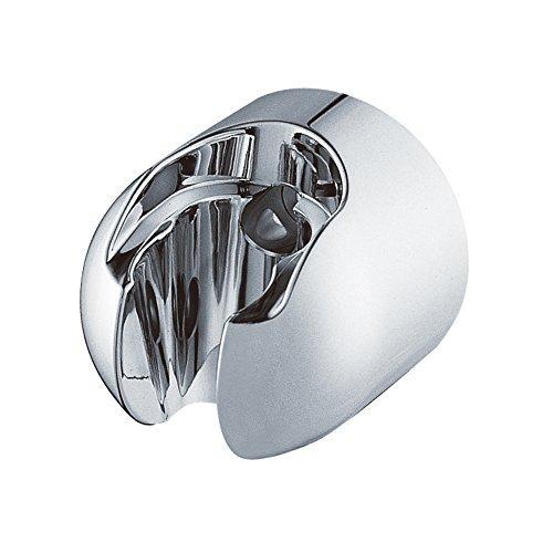 ZhenDe Universal Bathroom Wall Mount Handheld Shower Head Bidet Spray Shower Arms Slide Bars Bracket Holder For Fixed Handheld Showerheads Chrome Color Bracket Model  Outdoor Hardware Store