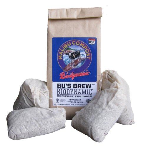 Malibu Compost Bus Brew Biodynamic Compost Tea Bags 1 Lb