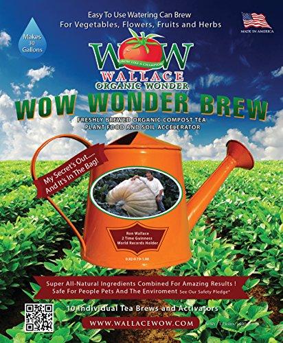 Wow Wonder Brew 80 Gram Compost Tea Bags
