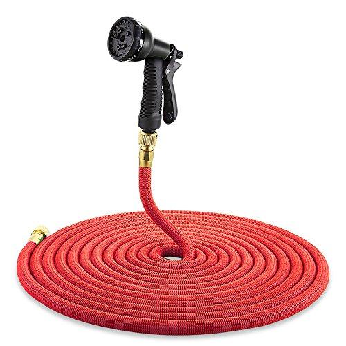 Upgrade 8 in 1 Spray Gun 25-100FT Expandable Garden Hose Irrigation Pipe Magic Flexible Hose with Spray Nozzle tuyau extensible75