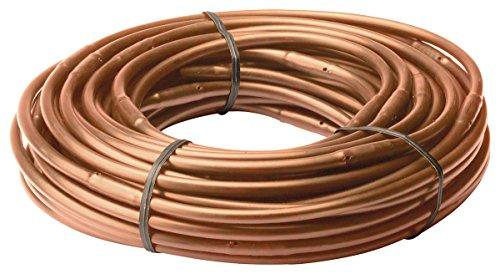Rain Bird Et256-50s Drip Irrigation 14&quot Emitter Tubing 6&quot Spacing 50 Roll Brown