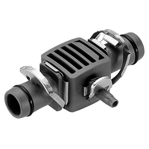 GARDENA 13338333-U Four Way Coupling Micro Drip System 12-316-Inch 5-piece per pack