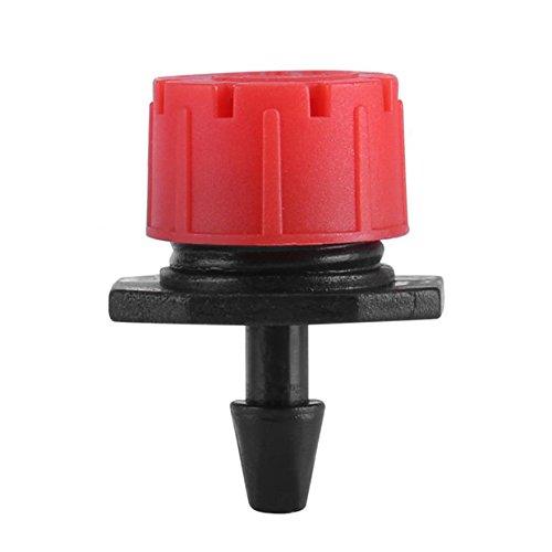Zerodis 8 Hole 14 Adjustable Micro Drip Irrigation Watering Emitter Drippers Sprinklers 150 Pcs