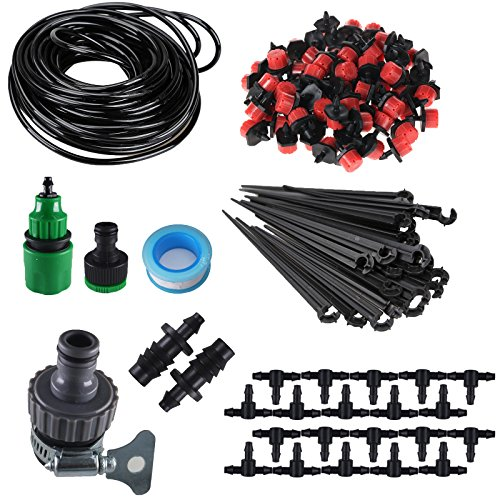 Koram 14&quot Blank Distribution Tubing Irrigation Gardeners Greenhouse Cooling Suite Plant Watering Drip Kit Accessories