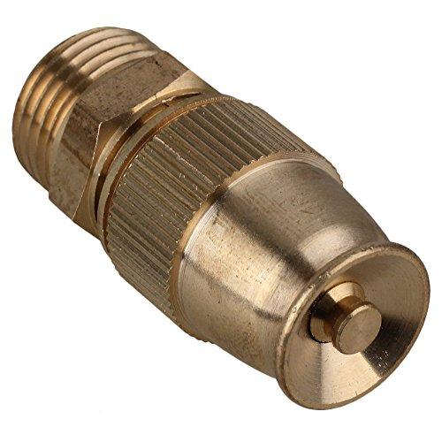 Garden Irrigation Adjustable 12 Male Thread Spray Misting Fogging Sprinkler Nozzle