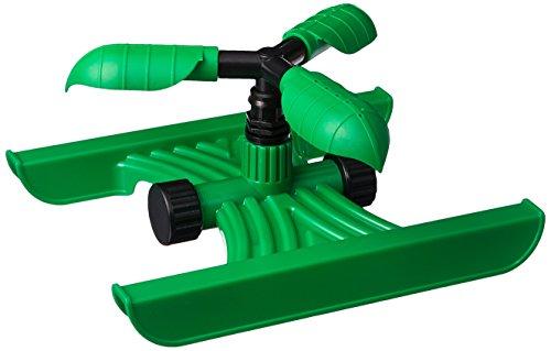 Aqua Plumb Rotating Sprinkler with 3-Arm Circular Pattern