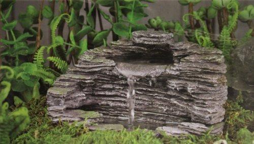 Fiddlehead Fairy Gardenquotgranite Grotto&quot Fountain With Pump 16908