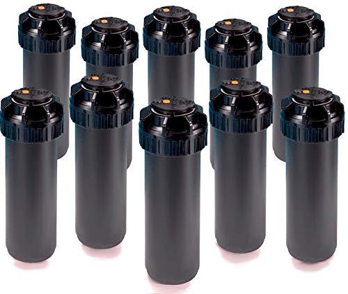5004-PC20 Rainbird 10 Pack 5000 Series Rotor Sprinkler Head 4-Inch pop-Up Lawn Sprayer wPre-Installed Nozzle