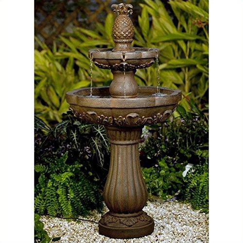 Jeco Classic Pineapple Outdoor Indoor Water Fountain