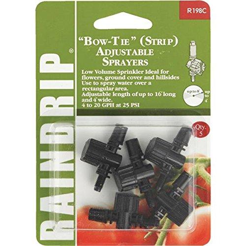 Raindrip Bow Tie Adjustable Sprinkler Head Sprayer - 1 Each
