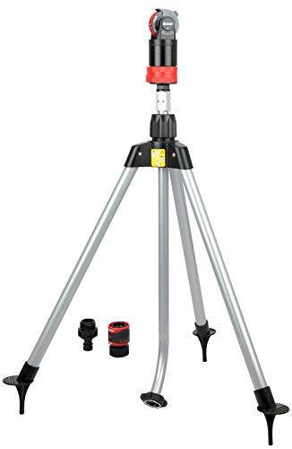 Eden 11530-EDAMZ Multi-Pattern Sprinkler Plus Misting System Black Red Gray