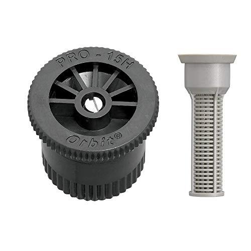 Orbit Half Pattern Sprinkler Nozzle with Filters 10-Pack