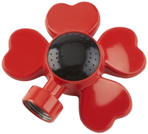 Colourwave Cw-901r-r Flower Design Circular Spot Sprinkler Red