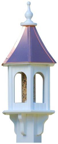 The Birdhouse Chick - Copper Gazebo Bird Feeder-PVC 28x10