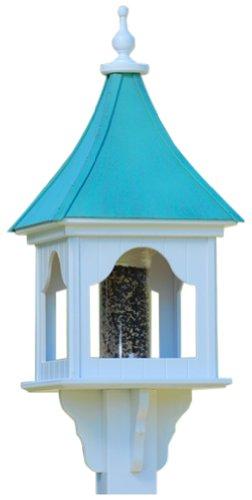 The Birdhouse Chick - Copper Gazebo Bird Feeder-PVC 36x14