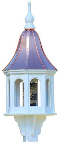 The Birdhouse Chick - Copper Gazebo Bird Feeder-PVC 40x16