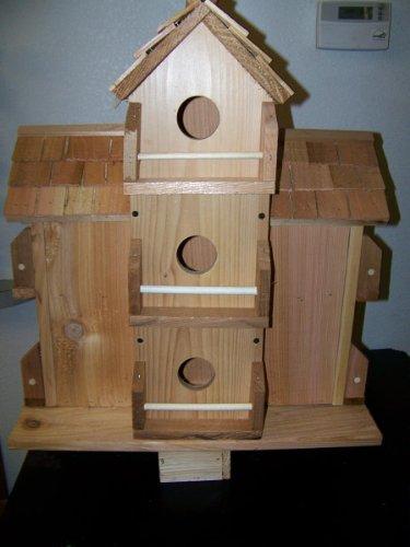 Purple Martin Cedar Birdhouse with 10 Separate Compartments