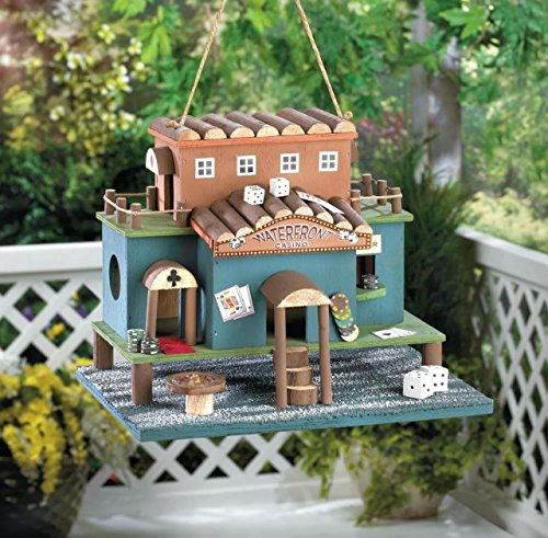 Hummingbird Birdhouse Casino Patterns Decorative Plans Chickadee Birdhouses Thatch Roof Outside Ornament For Kids