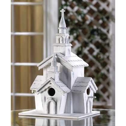 Hummingbird Birdhouse White Cardinal Church Patterns Birdhouses Chickadee Thatch Roof Plans Outside Decorative Ornament