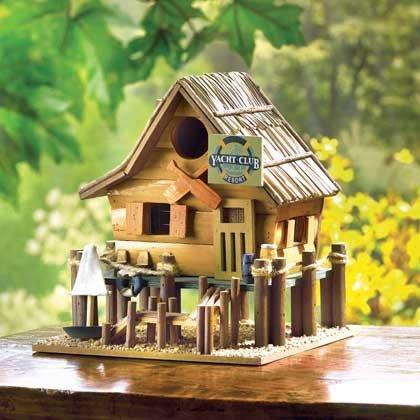 Hummingbird Birdhouse Wooden Yacht Patterns Chickadee Birdhouses Plans Outside Ornament Kids Decorative Plans