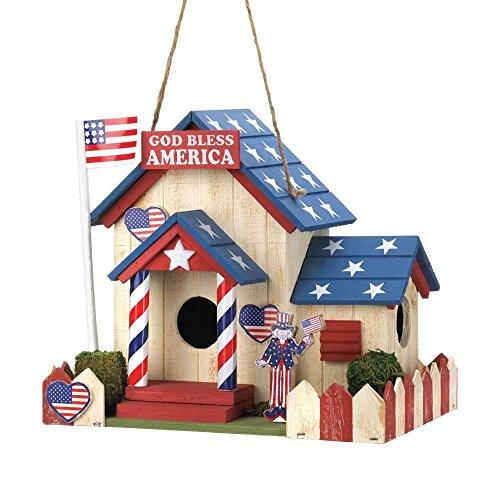 Smart Living Company 10015282 Hanging Sparrow Chickadee Birdhouse