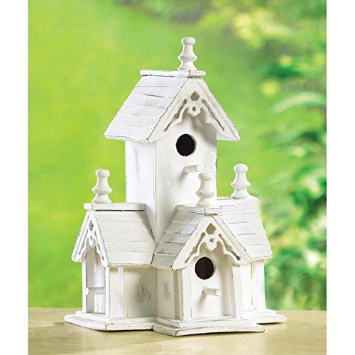 Thatch Roof Hummingbird Birdhouse Cardinal Chapel Patterns Ornament Chickadee Birdhouses Plans Outside Decorative