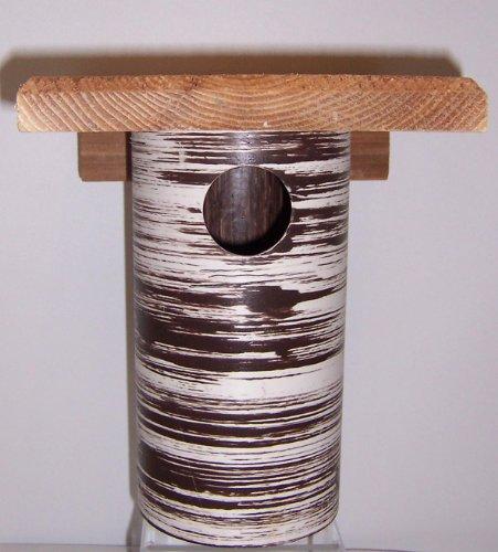 Bluebird Housendash Gilbertson Pvcamp Cedar Bird Housendash Also Can Be Used As Chickadee House Wren House Or Swallow