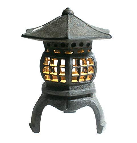 TIAAN 12 Height Japanese Lantern Solar Garden lamp Solar Pagoda Light