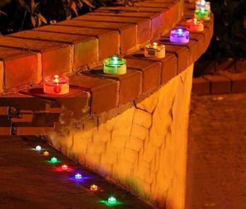 Sprite Science Solar Powered Ground Light Path Garden Stairway Solar Lights Green