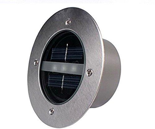 X-Sunshine 3 LED Solar Powered Ground Light Landscape Lighting For Garden Pathway Stairway