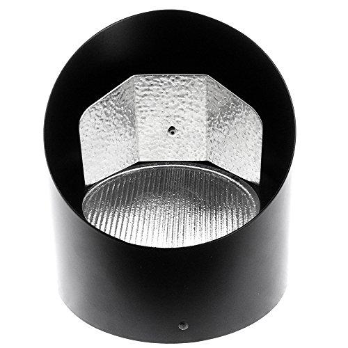 Lightolier 6488 Lytespan Track Lighting Lytespot Wall Washer Accessory Black