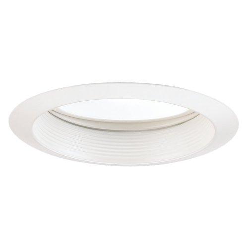 Sea Gull Lighting 11044AT-15 6-Inch Gimbal Recessed Light Trim White