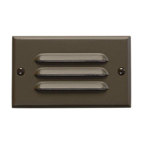 12600AZ Design Pro LED 120V Horizontal Louver Step Hall Light Architectural Bronze Finish