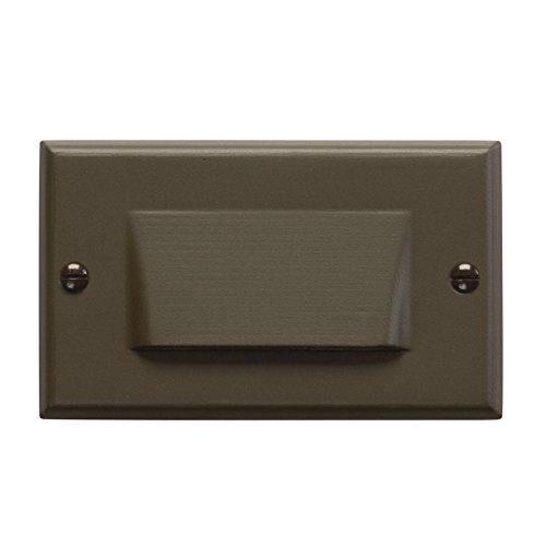 Kichler Lighting 12652az Shielded Face Design Pro Interior Led Step And Hall Light Architectural Bronze