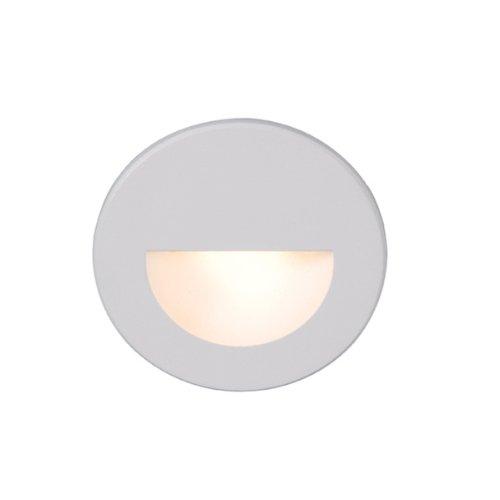 WAC Lighting WL-LED300-C-WT LED Step Light Circular Scoop