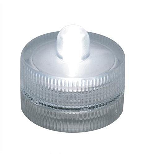Everyday Waterproof Wedding Underwater Battery Sub LED Lights in White Pack of 36