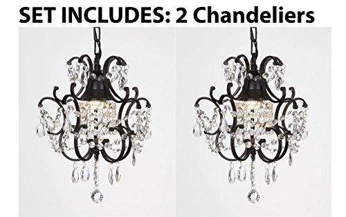 Chandelier Wrought Iron Crystal Chandelier Island Pendant Lightingacirc&nbsph14&quot W11&quot
