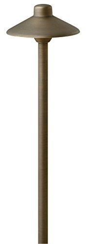 Hinkley Lighting 16050mz Hardy Island 20-watt T-3 Bi Pin Light Bulb 15-inch Low Voltage Standard Path Light Matte