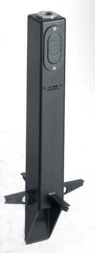Arlington Industries Gpl19b Gard-n-post Low-profile Landscape Lighting Post With Metal Bushing 19-inch Black
