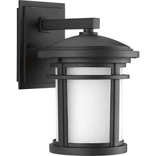 Progress Lighting P6084-3130K9 TraditionalCasual 1-9W Led Wall Lantern Black