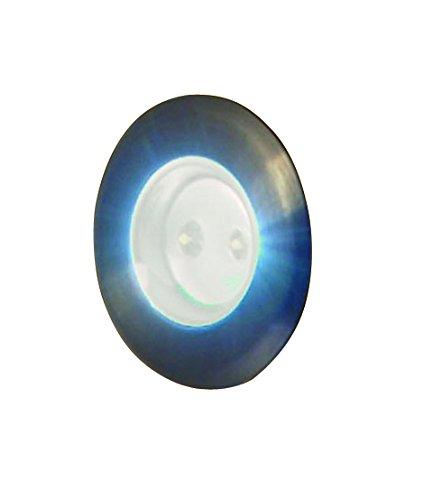 Moonrays 091977 LED Low Voltage 5 Lumen Recessed Deck Light 2 Pack
