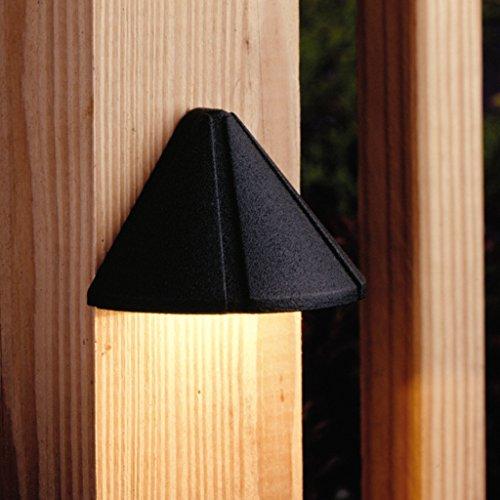 15065AZT - Kichler Lighting - Six Groove - Low Voltage One Light Deck Lamp - Six Groove
