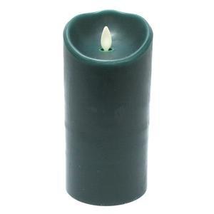 Gkibethlehem Lighting Luminara Wax Candle 35 By 7-inch Forest