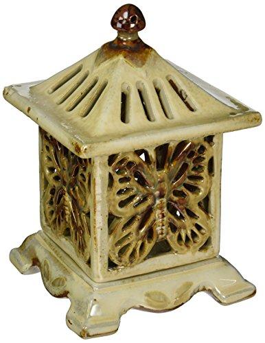 Master Craft Ceramic Butterfly Candleholder