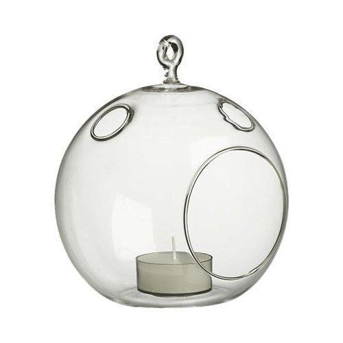 6 Glass Hanging TerrariumVotive Candle Holder 6pcs