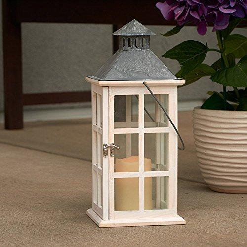 Smart Design Camden Lantern with LED Candle
