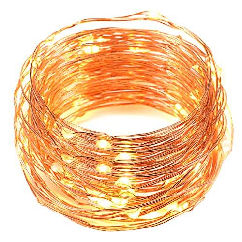 Usb Led String Lightsoak Leaf 2 Set Of 60 Leds Starry Lights Copper Wire For Home Bedroom Party Wedding Decoration