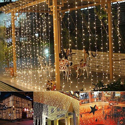 Curtain Light  Image&reg Curtain Light 224led 98ft66ft Christmas Festival Curtain String Fairy Wedding Led Lights